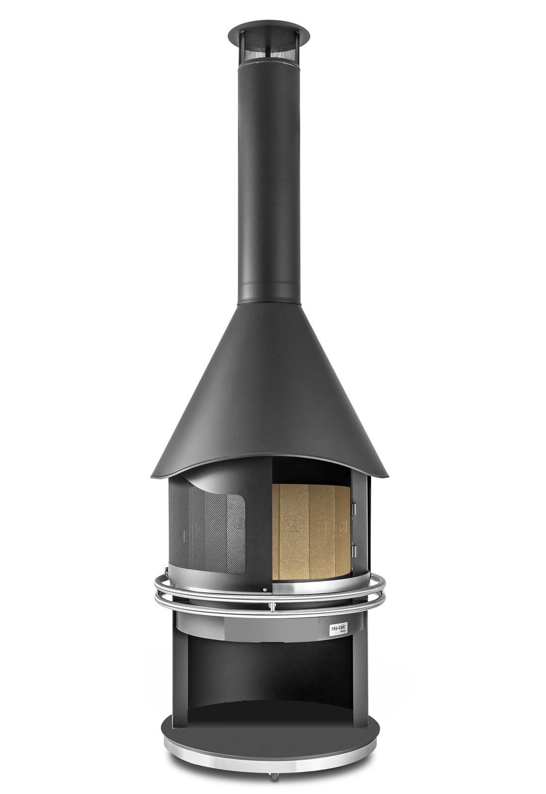 Prix Cheminee Exterieur Feu Chic Design cheminée modèle boldie